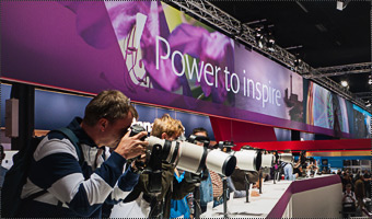 Stand da Canon no photokina 2012