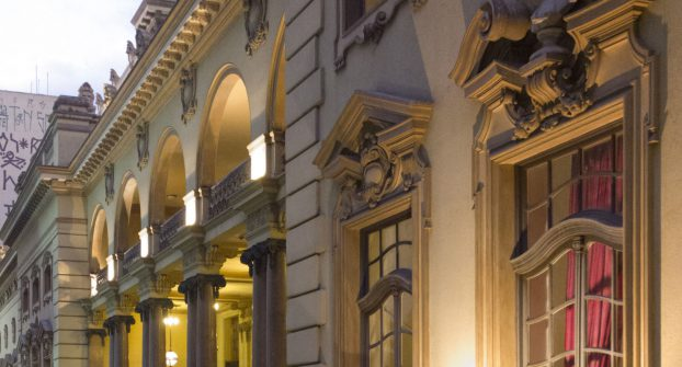 #BomDia_SP - Janelas do Theatro Municipal